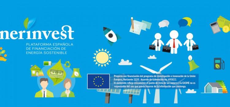 El proyecto europeo enerinvest promoverá la inversión de 25 millones de euros en proyectos de energía sostenible