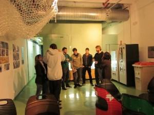L'Institut Narcís Monturiol visita la bomba geotèrmica de la fàbrica del sol