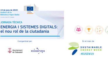 """Jornada """"Energia i sistemes digitals"""" a Sabadell"""