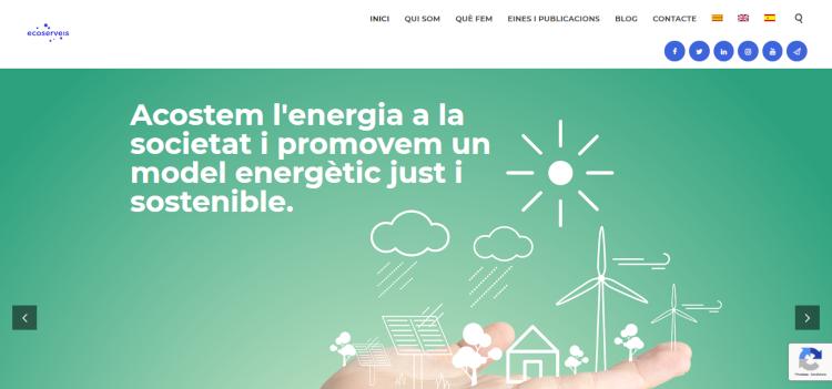 Estrenem el nou web d'Ecoserveis!