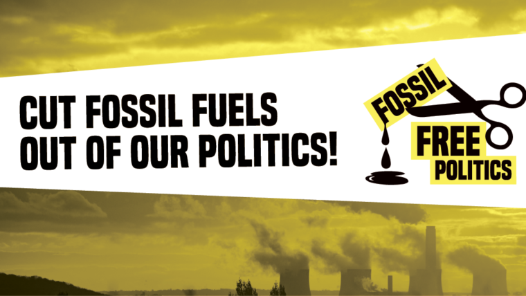 Ecoserveis signs the 'Fossil Free Politics in the EU' statement