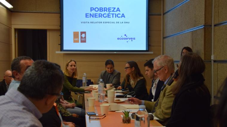 El relator especial de l'ONU sobre pobresa extrema reclama mesures específiques adreçades a la pobresa energètica