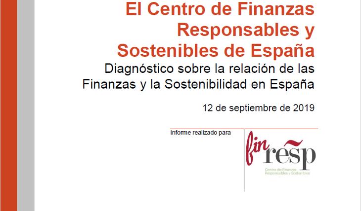 Diagnóstico sobre la relación de las Finanzas y la Sostenibilidad en España