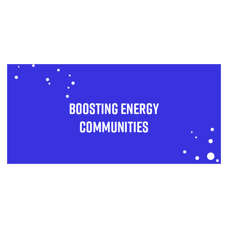 Boosting Energy Communities