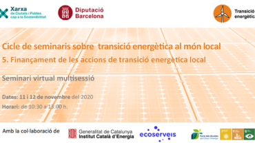 Finançament de les accions de transició energètica al món local