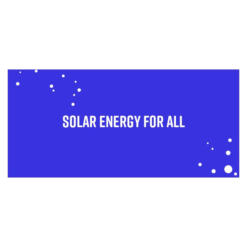 Solar energy for all