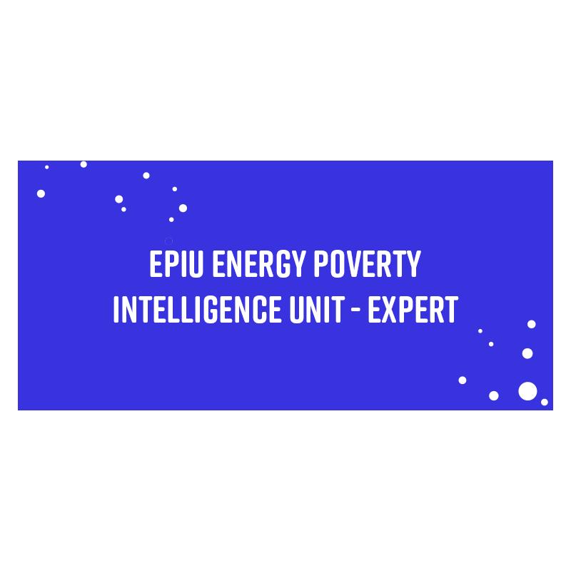 EPIU Energy Poverty Intelligence Unit – Expert
