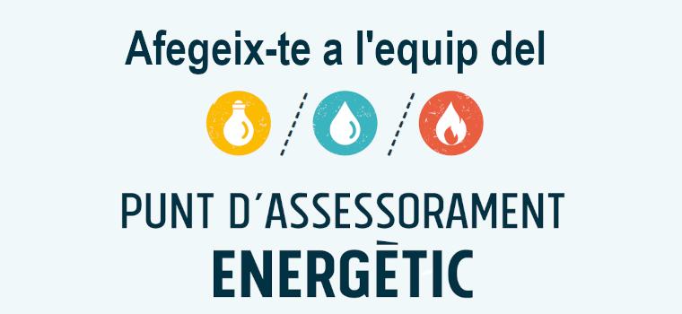 Oferta de feina: Coordinació tècnica i gestió dels Punts d'Assessorament Energètic de Barcelona