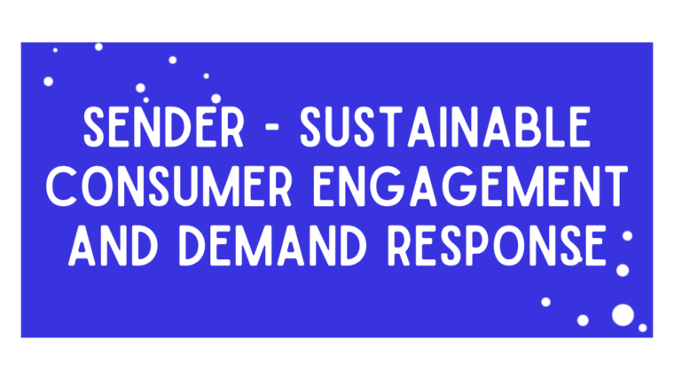 SENDER – Sustainable Consumer Engagement and Demand Response